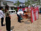 金沢区で工事が始まります。