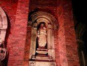 歴史が物語るレンガの建物