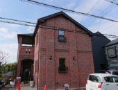 青葉区でレンガの家が完成しました。