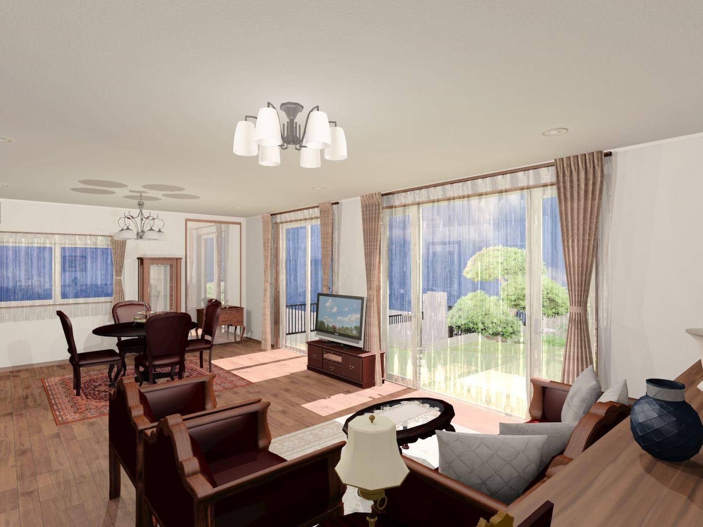 赤レンガの家 内観イメージ 注文住宅 横浜