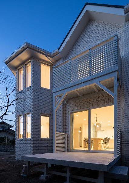 湘南・神奈川・横浜で工務店探しは、夜景がきれいなレンガの家。