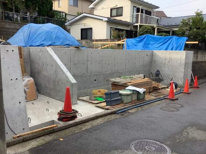 横浜市の工務店「せらら工房」のイベント&ニュース 擁壁工事