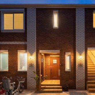 レンガで建てる賃貸併用住宅