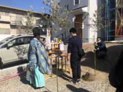 神奈川の工務店「せらら工房」のブログ 鎌倉市にて地鎮祭