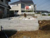 200住宅の基礎が完成しました。