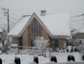 雪 そして かまくら