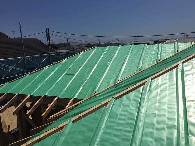 神奈川の工務店、屋根断熱・遮熱工法。